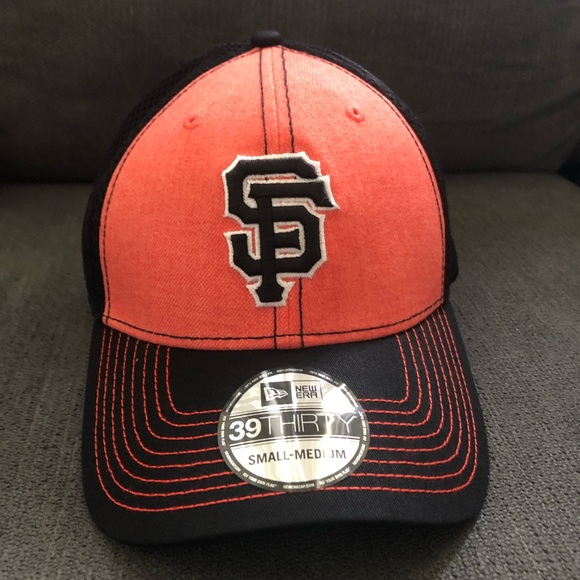 Size Small//Medium New York Giants New Era White Cotton Snapback Hat